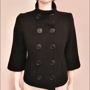 GUESS Wool Cropped Jacket Size S New!